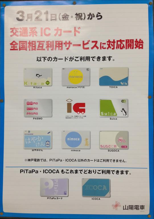 2014年】交通系ICカード全国相互...