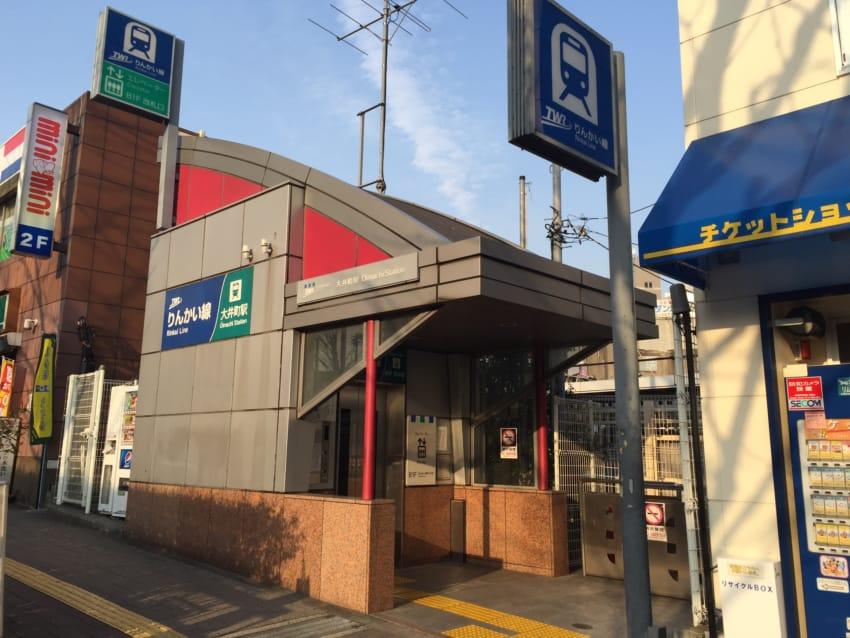 りんかい線大井町駅へのエレベーター