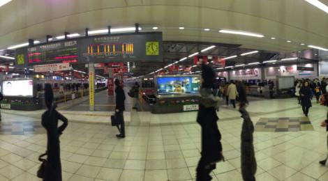 さよなら東横線渋谷駅