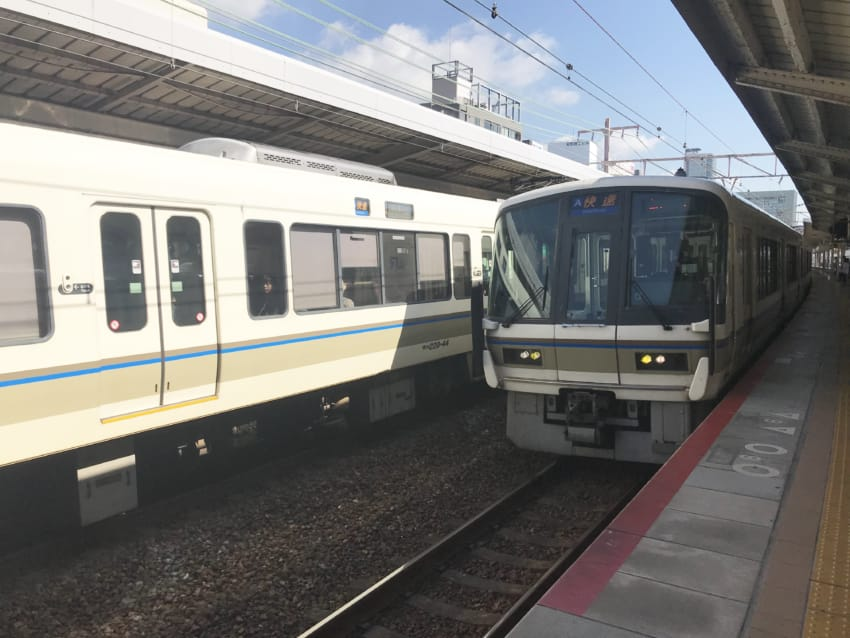 JR京都線「快速」