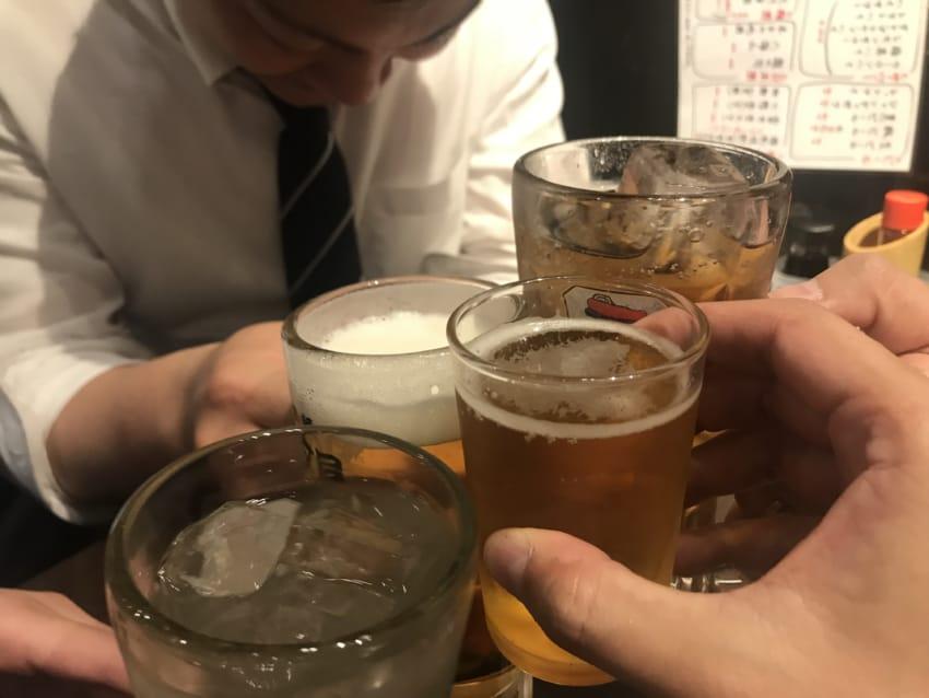 新宿での誕生会