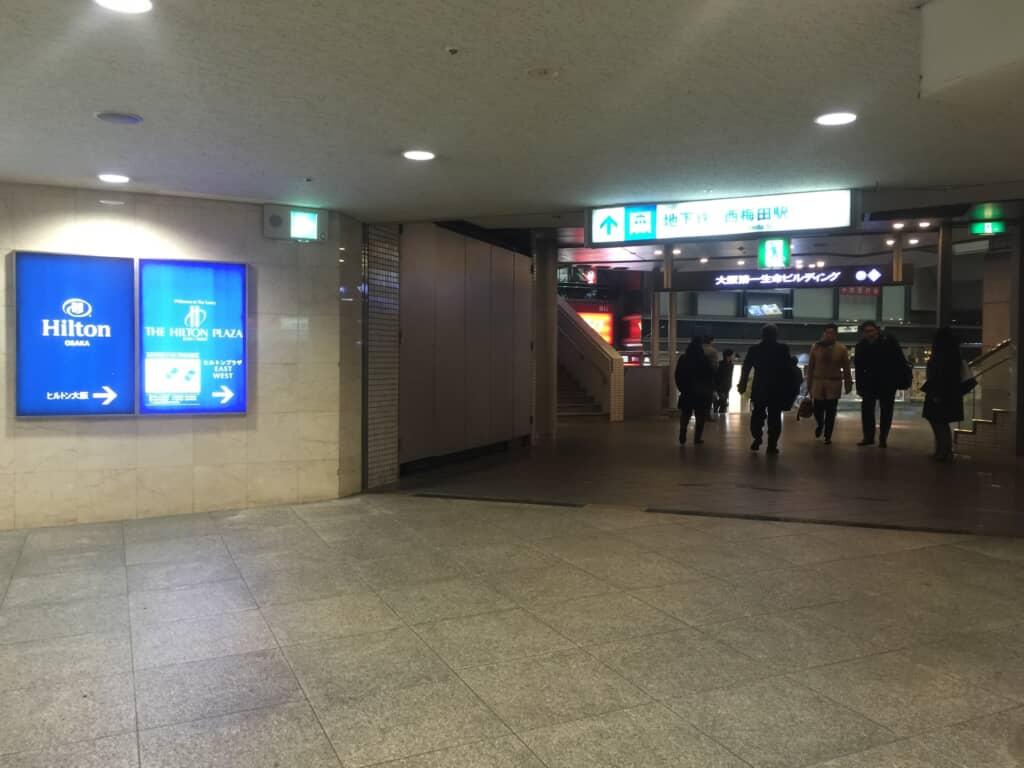 大阪第一生命ビル横通路東側