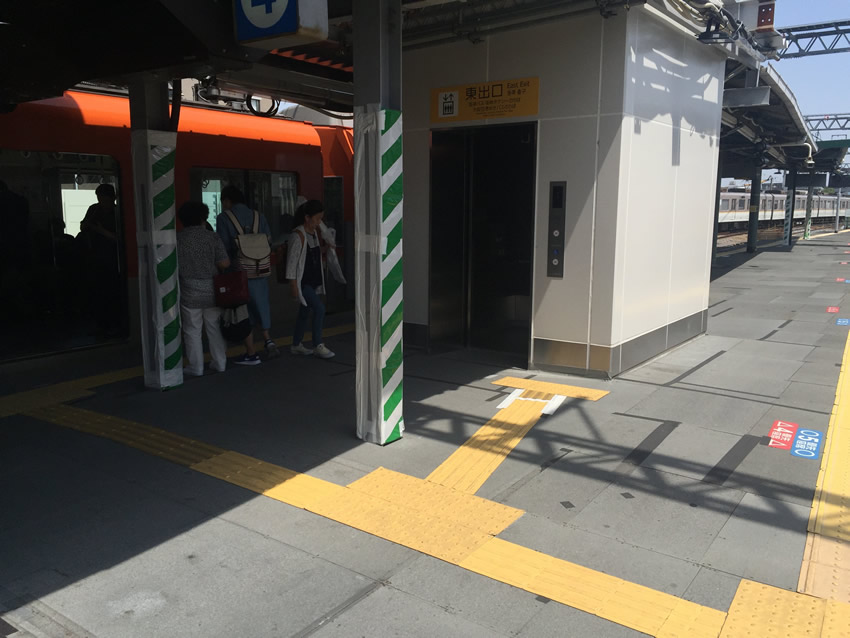 甲子園駅東口EV