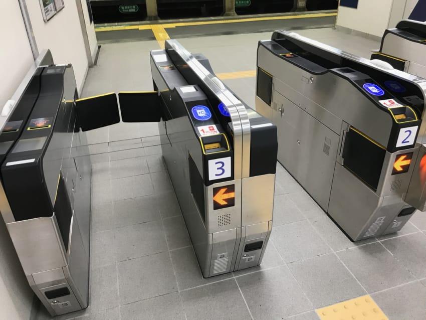 阪急の新型改札機