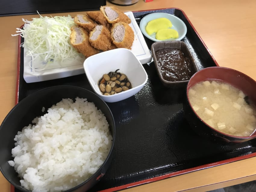 ヒレカツ定食