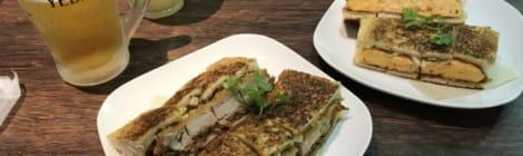 できたてで食べて欲しいジューシーかつサンド〜阪神西宮「勝山堂」