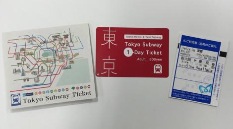 エクスプレス予約・プラスEXで新幹線に乗ると「Tokyo Subway Ticket」が買えるよ