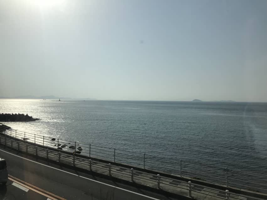 しおかぜから見る瀬戸内海